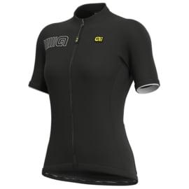 Alé Solid Block dames fietsshirt korte mouwen - zwart