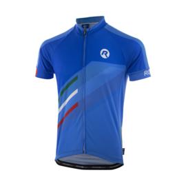 Rogelli Team 2.0 fietsshirt korte mouwen - blauw