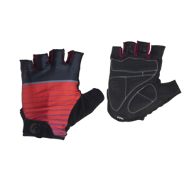Rogelli Hero zomer fietshandschoenen - zwart/rood
