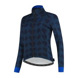 Rogelli Blossom dames winter fietsjack - blauw