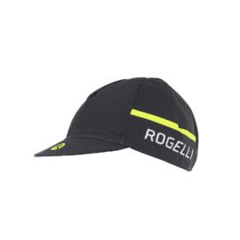 Rogelli Hero fietscap – zwart/fluor