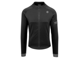 AGU Essential heren winter fietsjack - zwart