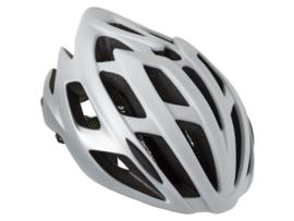 AGU Strato fietshelm race - wit/zilver