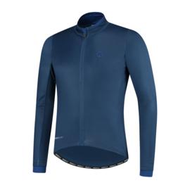 Rogelli Essential heren fietsshirt lange mouwen - blauw