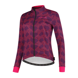 Rogelli Blossom dames winter fietsjack - paars/roze