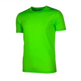 Rogelli hardloopshirt kinderen korte mouw - fluor groen