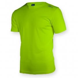 Rogelli Promo hardloopshirt heren korte mouw - fluor