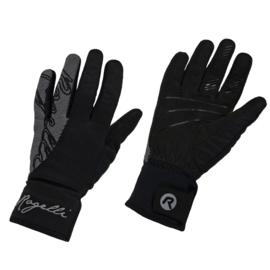Rogelli Flash dames winter fietshandschoenen - zwart