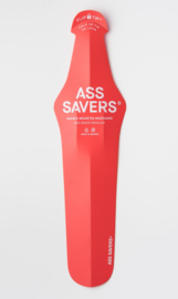 Ass Savers Regular vouwbaar spatbord - rood