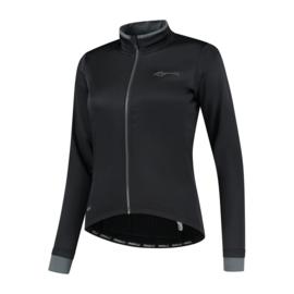 Rogelli Essential dames winter fietsjack - zwart
