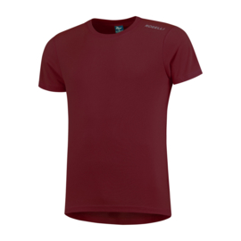 Rogello Promo hardloopshirt heren korte mouwen - bordeaux