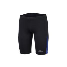 Rogelli Dixon korte hardloopbroek heren - zwart/blauw