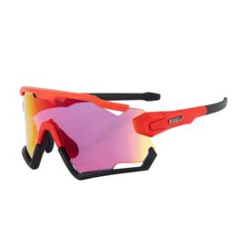Rogelli Switch fietsbril - rood