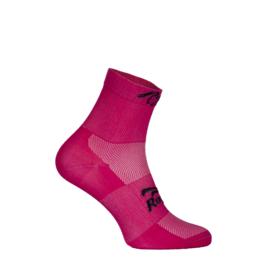 Rogelli RCS-10 dames zomer fietssokken - roze