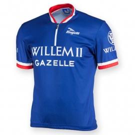 Rogelli Willem II retro fietsshirt korte mouwen