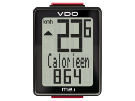 VDO M 2.1 fietscomputer bedraad