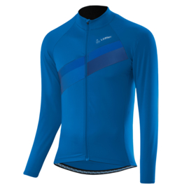 Löffler Evo heren fietsshirt lange mouwen - blauw
