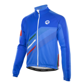 Rogelli Team 2.0 heren winter fietsjack - blauw