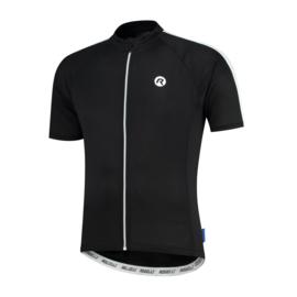 Rogelli Explore fietsshirt korte mouwen - zwart/wit