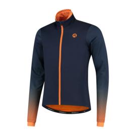 Rogelli Trace heren winter fietsjack - blauw/paars