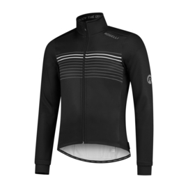 Rogelli Kalon heren winter fietsjack - zwart/wit