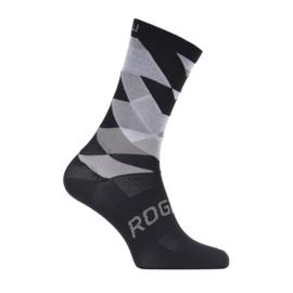 Rogelli RCS-14 zomer fietssokken - zwart/grijs