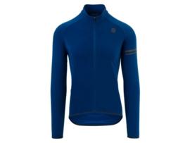 AGU Essential Thermo fietsshirt lange mouwen - blauw
