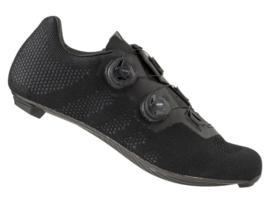 AGU R910 knit fietsschoenen race - zwart