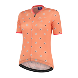 Rogelli Daisy dames fietsshirt korte mouwen - coral