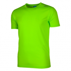 Rogelli Promo hardloopshirt heren korte mouw - fluor groen