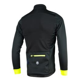Rogelli Pesaro DeLuxe winter fietskledingset - zwart/fluor