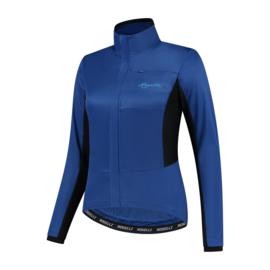 Rogelli Barrier dames winter fietsjack - blauw