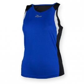 Rogelli Esty hardloop singlet dames - blauw/zwart