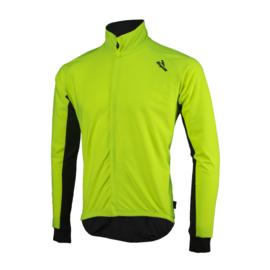 Rogelli All Seasons regen fietsshirt lange mouwen - fluor/zwart