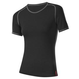 Löffler Transtex Warm dames ondershirt korte mouwen - zwart