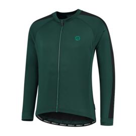 Rogelli Explore heren fietsshirt lange mouwen - groen/zwart