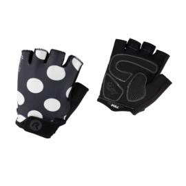 Rogelli Sprinkle dames zomer fietshandschoenen - zwart/wit