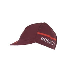 Rogelli Hero fietscap – bordeaux/rood