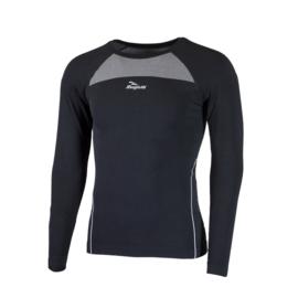Rogelli Core ondershirt lange mouwen - zwart - 2 pack