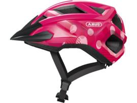 ABUS Mountz kinder fietshelm - roze