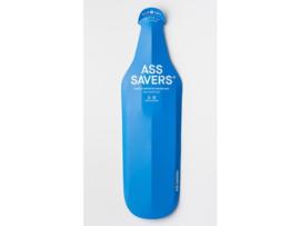 Ass Savers Wide vouwbaar spatbord - extra breed - blauw