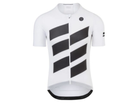 AGU High Summer fietsshirt korte mouwen - wit