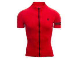 AGU Essential fietsshirt korte mouwen - rood