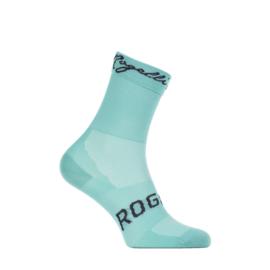 Rogelli RCS-15 dames zomer fietssokken - turquoise