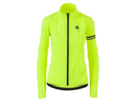 AGU Essential Prime dames fiets regenjack - fluor