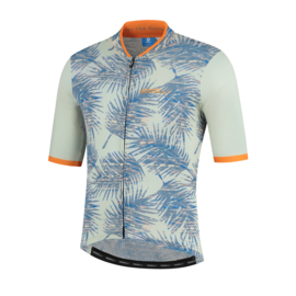 Rogelli Nature fietsshirt korte mouwen - oranje/zand (eco)