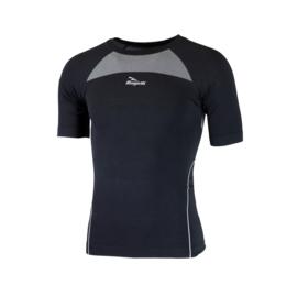 Rogelli Core ondershirt korte mouwen - zwart - 2 pack