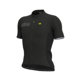 Alé Color Block fietsshirt korte mouwen - zwart