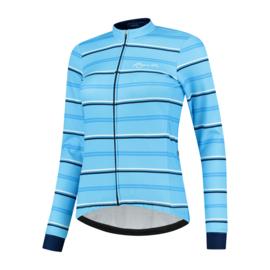 Rogelli Stripe dames winter fietsjack - blauw