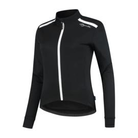 Rogelli Pesara dames winter fietsjack - zwart/wit